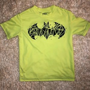 Boys Neon Batman Shirt size 6/7